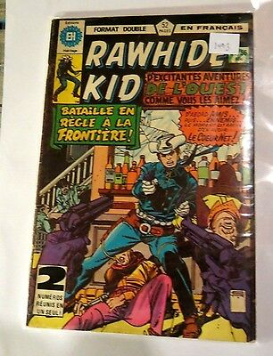 Rawhide Kid Double issue 55/56 Edition Herge (French) Bronze age Comic CB1493