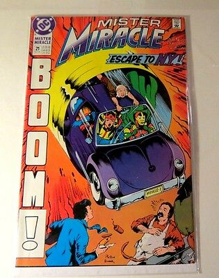Mister Miracle #21 DC Copper age CB 1748
