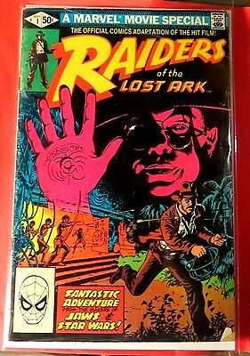Raiders of the lost Ark $1 Movi Adaptation Marvel Bronze Age  CB2457