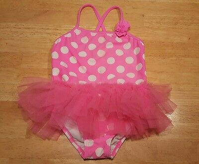 """op"" Baby Girls Toddler One Piece Swim Suit Bathing Suit Size 2T"