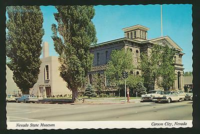 Nevada State Museum / Mint Carson City   Vintage Antique Postcard  UNPOSTED