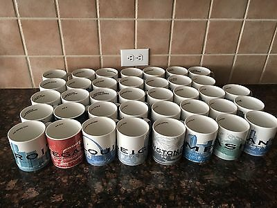 Starbucks Skyline Series 1 Collectors Mugs (Multiple Cities)