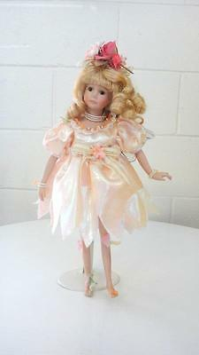 Victorian style Homeart Porcelain Doll, Fairy Wings