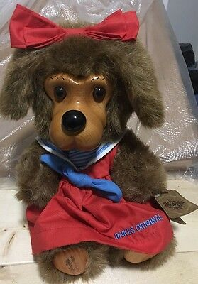 Robert Raikes Hand Carved Dog Jessica Limited Edition #7066 of 7500