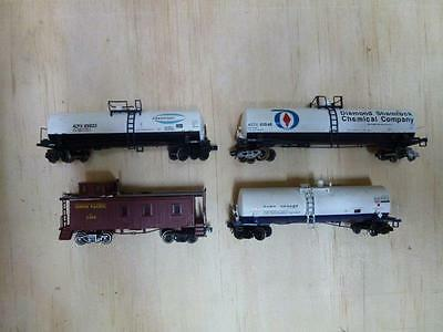 Freight Carriages - N-scale - Mixture