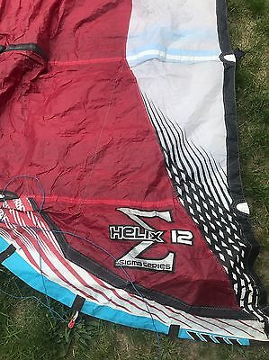Naish Helix 12 Meter Sigma Series Refurbished Kite Kiteboard Kitesurf