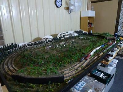 N-scale layout - 8ft x 4ft