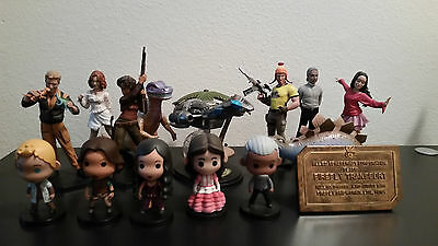 71 pc Lot Loot Crate Firefly Serenity QMX Figures Qbits Decals Pins Books & More