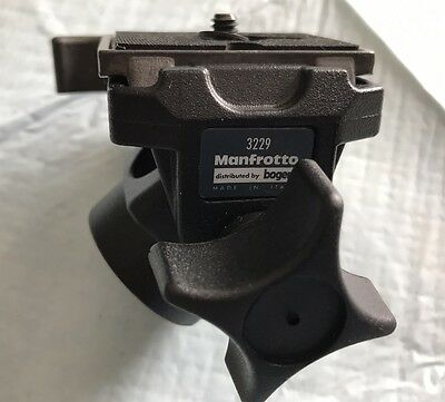 Manfrotto 3229 Tilt Swivel Tripod Head With  200PL Speed Plate