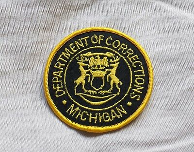 Michigan Department of Corrections Hat Patch