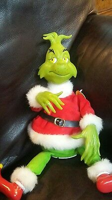 GEMMY How The Grinch Stole Christmas  Grinch  Sound & Motion NOT WORKING BROKEN