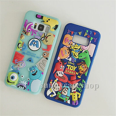 Cartoon Cute Monsters Toy Story soft case cover for samsung galaxy S9 S8 plus S7