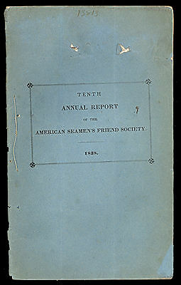 10th Annual Report of American Seaman's Friend Society, List of Officers