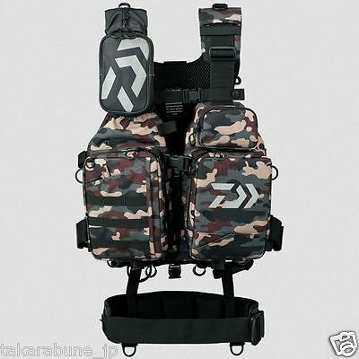 DAIWA DF-6107 Ventilation cool game vest III Color: camouflage Size: Free