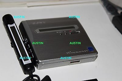 Sony Mz Nh1 Minidisc Player Recorder Net Md With Microphone