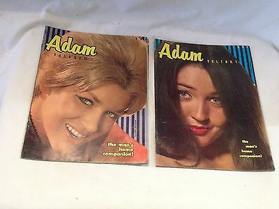 LOT 2 Vintage Adult Stag Magazines  (FREE SHIPPING)