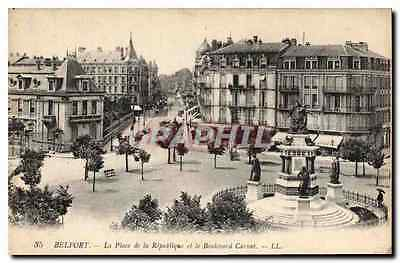 CPA Belfort La Place de la Republique