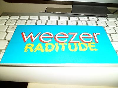Weezer decal lot White Rivers Cuomo EMO Rock Roll maladroit Green Raditude girls