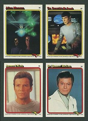 1979 Topps Star Trek Motion Picture Set NM