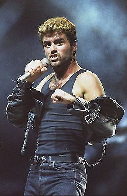 GEORGE MICHAEL in concert 'Faith' 1988! 120 AMAZING PHOTOS! Earls Court. not cd