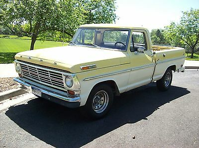 1968 Ford F-100 Custom Cab 1968 Ford F100