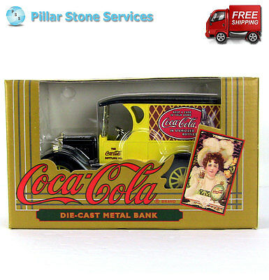 Coca Cola Ertl 1923 Chevrolet 1:25 Scale Diecast Coin Bank