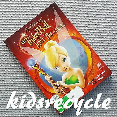 "Disney DVD ""TINKERBELL and the Lost Treasure"" - adventure beyond Pixie Hollow"