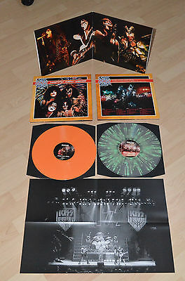 Kiss Happy New Year 2 Lp Coloured Vinyl+Poster!