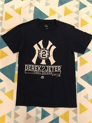 New York Yankees Derek Jeter Final Season T-Shirt - Men's Small