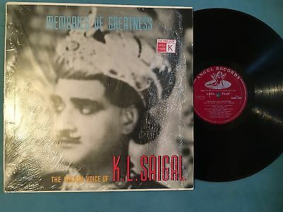 Memories of greatness  The Golden  of K.L.Saigal  Record Bollywood Hindi
