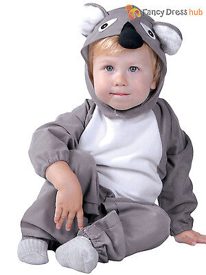 Baby Toddler Koala Costume Childs Animal Fancy Dress Kids Australia Day Outfit