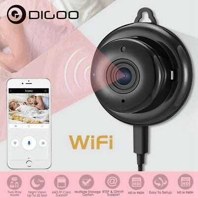 Digoo HD 960P Wireless WIFI Smart Mini IP Camera Home Security Night Vision CCTV