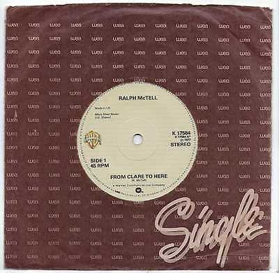 """Ralph McTell - From Clare To Here - 7"""" Single"""