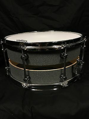 14x7 Slotted Custom Birch Snare.