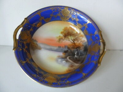 Noritake Highly Gilded Scenery Scenery  Bowl