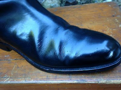Exceedingly Handsome Vintage Trickers' Riding Boots 9 1/2 - 10, 16 Inch Calf.