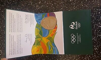 Olympic Games Participation Medal - Rio 2016 (Boxed)