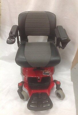 Red Go Chair Electric Power Scooter By Pride Mobility in Good Condition