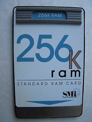 SMI 256k RAM Card for HP 48GX Calculator, Excellent Condition