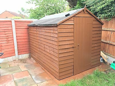8' X 6' Apex Ship lap Wooden Garden Shed