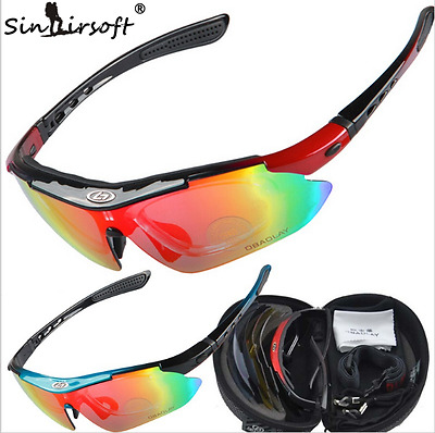 Cycling Glasses Polarized Bicycle Bike Goggles Eyeware Sunglasses Outdoor Sports