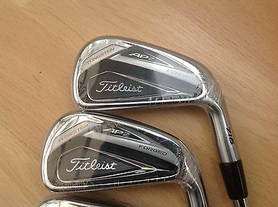 Brand New Titleist AP2 716 Iron set. 4 to Pitch S300 Dynamic Gold Steel shafts.