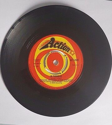 Norman Johnson & The Showmen Take It Baby UK Action Records Northern Soul ACT 45