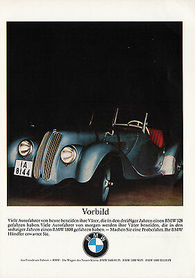 1965 BMW Authentic VINTAGE German Magazine Car Advert