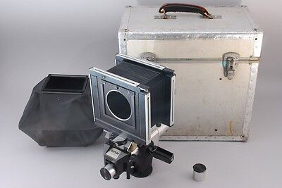 [NEAR MINT] Sinar C 4x5 Large format Camera + Hood,Board,Case from japan #1047