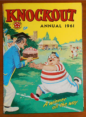 KNOCKOUT Comic Book Annual 1961 - Very Good Condition  Full Spine. Billy Bunter