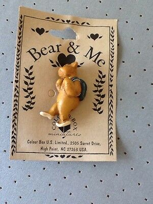 Bear & Me , colour box set Of 50 Broaches