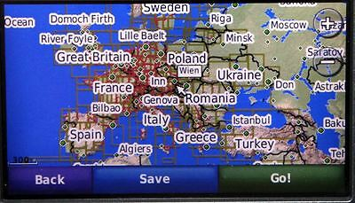 COMPLETE 2017 EUROPE+UK map for GARMIN GPS on microSD card (incl Adapter)
