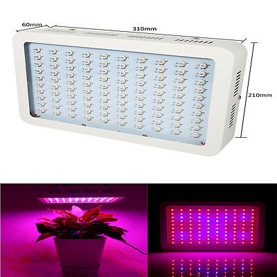 1000W LED Grow Light Panel Lamp for Hydroponic Plant Growing Full Spectrum OB