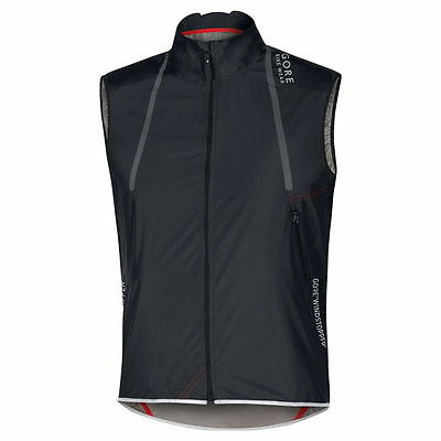 Chaleco Gore Bike Wear Oxygen Windstopper AS Negro